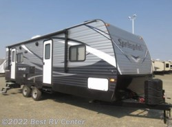 New 2017  Keystone Springdale 258RLWE /U SHAPED DINETTE/ REAR LIVING by Keystone from Best RV Center in Turlock, CA