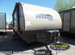 New 2017  Forest River  Patriot Edition 23DBH by Forest River from AC Nelsen RV World in Shakopee, MN