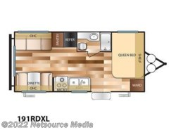 New 2017  Forest River Wildwood X-Lite 191RDXL by Forest River from U-Neek RV Center in Kelso, WA
