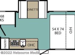 New 2017  Coachmen Viking Ultra-Lite 17BHS by Coachmen from U-Neek RV Center in Kelso, WA
