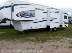 Used 2011  Keystone Montana Hickory 3455SA by Keystone from Midway Homes & RV in Grand Rapids, MN