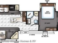 New 2018  Heartland RV Resort 441FL by Heartland RV from Midway Homes & RV in Grand Rapids, MN