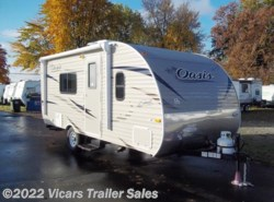 New 2017  Shasta Oasis 18FQ by Shasta from Vicars Trailer Sales in Taylor, MI