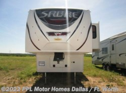 Used 2013  Palomino Sabre 34RLQS by Palomino from PPL Motor Homes in Cleburne, TX
