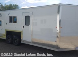 New 2016  Yetti Shell 8' x 21' Hydraulic Lift Toyhauler by Yetti from Glacial Lakes Dock, Inc.  in Starbuck, MN