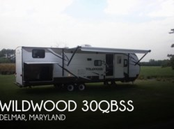 Used 2015  Forest River Wildwood 30QBSS