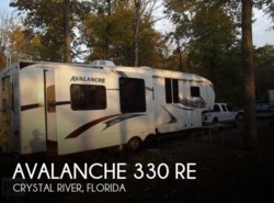 Used 2011  Keystone Avalanche 330 RE by Keystone from POP RVs in Sarasota, FL