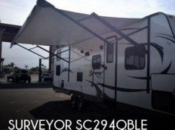Used 2015  Forest River Surveyor SC294QBLE by Forest River from POP RVs in Sarasota, FL