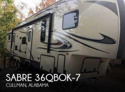 Used 2014  Palomino Sabre 36QBOK-7 by Palomino from POP RVs in Sarasota, FL