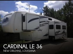 Used 2008  Forest River Cardinal LE 36 by Forest River from POP RVs in Sarasota, FL