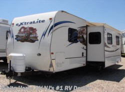 Used 2012  Forest River Wildcat eXtraLite 30BHS Rear Bunk Bedroom Double Slide Out by Forest River from White Horse RV Center in Williamstown, NJ
