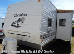 Used 2004  Forest River Cherokee 38B Two Bedroom Sofa/Dinette Slide Out by Forest River from White Horse RV Center in Williamstown, NJ
