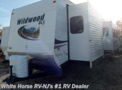 Used 2013  Forest River Wildwood XL/Lodge 402QBQ by Forest River from White Horse RV Center in Williamstown, NJ