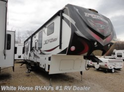Used 2012  Keystone Fuzion 360 Queen Bed Double Slide-out by Keystone from White Horse RV Center in Williamstown, NJ