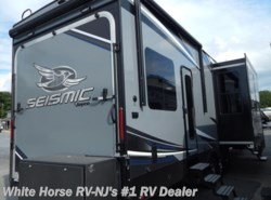 New 2018 Jayco Seismic 4114 Triple Slideout w/14' Garage available in Williamstown, New Jersey