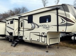 New 2018 Jayco North Point 375BHFS Two Bedroom Five Slideouts available in Williamstown, New Jersey