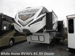 Used 2014 Keystone Fuzion FZ 390 Triple Slide 1 & 1/2 Bath Rear 12' Garage available in Williamstown, New Jersey