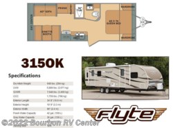 New 2017  Shasta Flyte 315OK by Shasta from Bourbon RV Center in Bourbon, MO