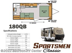 New 2017  K-Z Sportsmen Classic 180QB by K-Z from Bourbon RV Center in Bourbon, MO
