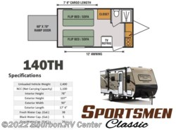 New 2017  K-Z Sportsmen Classic 140TH by K-Z from Bourbon RV Center in Bourbon, MO
