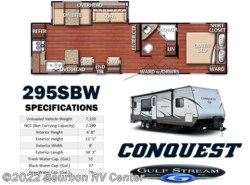 New 2017 Gulf Stream Conquest 295SBW available in Bourbon, Missouri