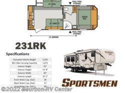 New 2017  K-Z Sportsmen 231RK by K-Z from Bourbon RV Center in Bourbon, MO