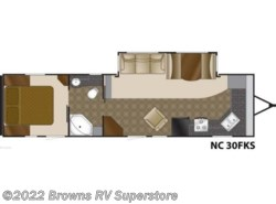 Used 2010  Heartland RV North Country 30FKS by Heartland RV from Brown's RV Superstore in Mcbee, SC