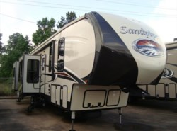 New 2017  Forest River Sandpiper 389RD by Forest River from Camperland Trailer Sales in Conroe, TX