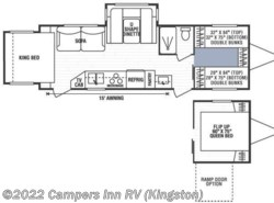 Used 2008  K-Z Spree 289KS by K-Z from Campers Inn RV in Kingston, NH