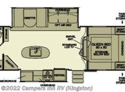 Used 2013  EverGreen RV Ever-Lite 29KIS by EverGreen RV from Campers Inn RV in Kingston, NH
