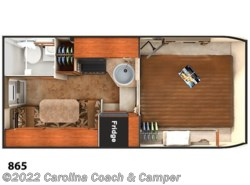 New 2017  Lance  Truck Campers 865 by Lance from Carolina Coach & Marine in Claremont, NC