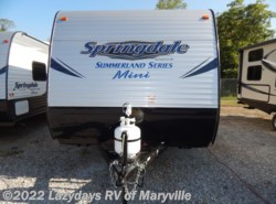 New 2017  Keystone Springdale Summerland Mini 1800BH by Keystone from Chilhowee RV Center in Louisville, TN