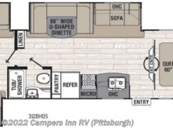 New 2017  Coachmen Freedom Express Liberty Edition 312BHDS by Coachmen from Campers Inn RV in Ellwood City, PA