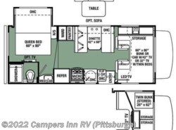 New 2017  Forest River Forester LE 2251SLE Ford by Forest River from Campers Inn RV in Ellwood City, PA