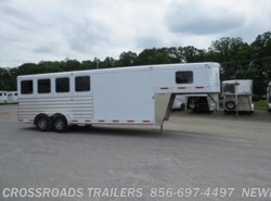 New 2017  Exiss Gooseneck 7400 4 HORSE GN by Exiss from Crossroads Trailer Sales, Inc. in Newfield, NJ