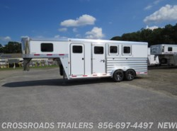 New 2017  Exiss Gooseneck 3 H Slant GN w/ dr room by Exiss from Crossroads Trailer Sales, Inc. in Newfield, NJ
