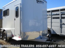 Used 2016  Shadow Trailer Stablemate 2 horse straight load w/rear ramp by Shadow Trailer from Crossroads Trailer Sales, Inc. in Newfield, NJ
