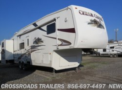 Used 2006  Forest River Cedar Creek 36BTS by Forest River from Crossroads Trailer Sales, Inc. in Newfield, NJ