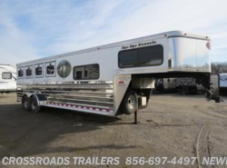 Used 2003  Sundowner ValueLite 4H GN 727 SLANT LOAD W/DR by Sundowner from Crossroads Trailer Sales, Inc. in Newfield, NJ