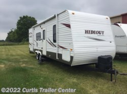 Used 2010  Keystone Hornet Hideout 27' BUNKHOUSE by Keystone from Curtis Trailer Center in Schoolcraft, MI