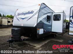 New 2017  Keystone Springdale West 240bhwe by Keystone from Curtis Trailers in Aloha, OR
