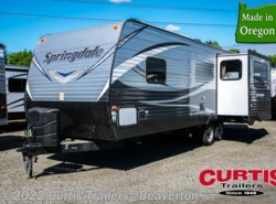 New 2018  Keystone Springdale West 258rlwe by Keystone from Curtis Trailers in Aloha, OR
