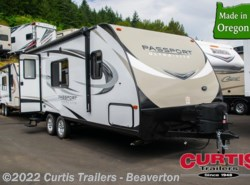 New 2018  Keystone Passport 195RBWE by Keystone from Curtis Trailers in Beaverton, OR