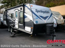 New 2018  Keystone Springdale West 220bhwe by Keystone from Curtis Trailers in Beaverton, OR