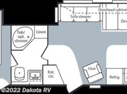 Used 2007  Keystone Hornet 33 FKDS by Keystone from Dakota RV in Rapid City, SD