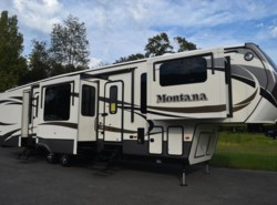 Used 2016  Keystone Montana 3710FL by Keystone from Diamond RV Centre, Inc. in West Hatfield, MA