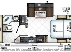New 2018  Forest River Rockwood Roo 23BDS by Forest River from Driftwood RV Center in Clermont, NJ