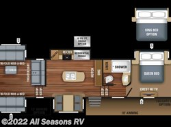 New 2018  Jayco North Point 387RDFS by Jayco from All Seasons RV in Muskegon, MI