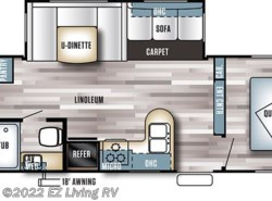 New 2017  Forest River Salem 28CKDS by Forest River from EZ Living RV in Braidwood, IL