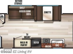 New 2017  Forest River Cherokee Grey Wolf 26CKSE by Forest River from EZ Living RV in Braidwood, IL